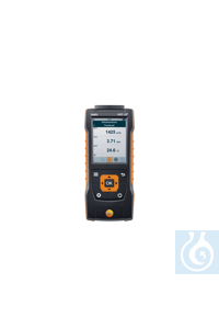 testo 440 dP - Air velocity and IAQ measuring instrument including differential  Use the testo...