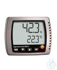 testo 608-H1 thermo hygrometer The testo 608-H1 thermohygrometer is ideally...