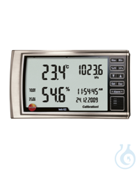 testo 622 hygrometer with pressure indic The testo 622 thermo hygrometer and barometer is ideal...