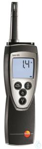 testo 625 - Thermohygrometer The testo 625 compact thermohygrometer has a...