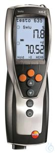 testo 635-2 - Temperatur- und Feuchtemessgerät Das Temperatur- und Feuchtemessgerät testo 635-2...