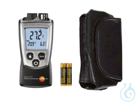testo 810 - 2 channel Infrared Thermometer (with TopSafe case) Non-contact...