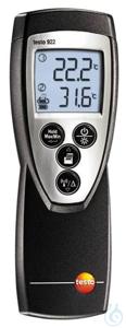 testo 922 - Temperaturmessgerät Das Temperaturmessgerät testo 922 misst Temperaturen und...