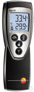 testo 925 - Temperaturmessgerät Das Temperaturmessgerät testo 925 ist unser Allrounder für die...