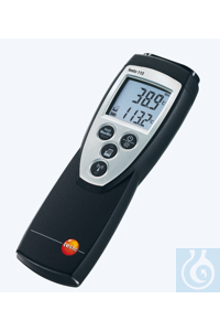 testo 110 - 1 Channel NTC Thermometer Audible alarm, user-defined...