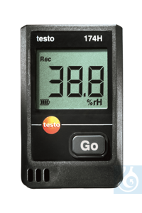 testo 174H - Mini Data Logger Memory for up to 16 000 temperature and...