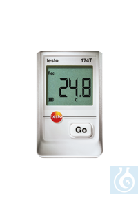 testo 174T - Mini Data Logger Measurement data memory for 16 000...
