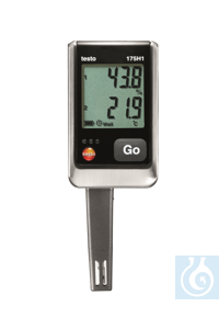 testo 175 H1 - 2 channel data logger Super-size memory for long-term...