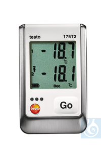 testo 175 T2 - Temperature data logger Including wall bracketIdeal for...