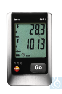 testo 176 P1 - Absolute Pressure Data Logger Record up to two additional...