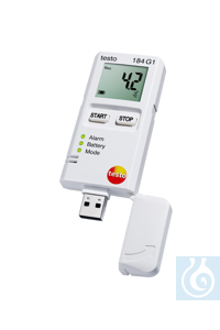 testo 184 H1 - Temperature and Humidity Data Logger All in one logger: PDF...