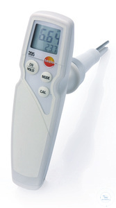 testo 205 - Handheld T-bar pH meter (set 1) Ideal for measuring the pH value...