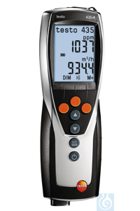testo 435-4 - Multifunction indoor air quality meter PC software for analyzing and logging...