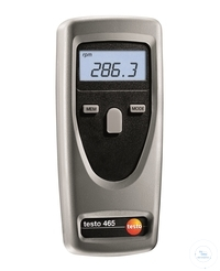 testo 465 - Tachometer Saves mean/max./min. values, as well as the last...