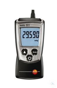 testo 511 - Absolute Pressure Meter Suitable for barometric altitude...