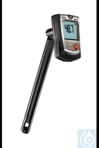 testo 605-H1 - Mini Thermohygrometer Calculates the dew pointMeasures...