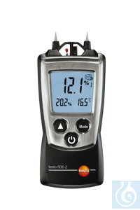 testo 606-2 - Moisture Meter, Air Temperature and Humidity Identifying and...