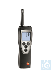 testo 625 - Thermohygrometer Measures air temperature and relative...