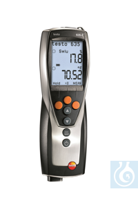 testo 635-2 - Thermohygrometer Thermohygrometer Optionally available sensors for moisture,...