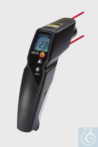 testo 830-T2 - Infrared Thermometer Contact measurement possible with connectable temperature...