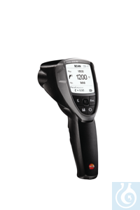 testo 835-T2 - 4 point Infrared Thermometer IR measurements from a safe distance; precise...