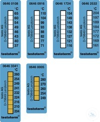 testoterm - Temperature strips (+161 … +204 °C) Measuring range +161 °C to +204...