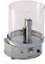 Spritz- und Wachsschutz für Flame 100 Mit Edelstahlplatte und Glaszylinder...