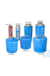 7Artículos como: CV470 gas cartridge  450 g butane gas with valve  pack = 2 pieces CV470 gas...
