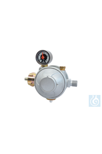 DVGW low pressure regulator DIN 4811-4 for household liquid gas installation...