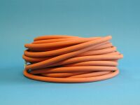 Laboratory red rubber tubing (NR) 4 X 8 mm, per meter, nr: 301 0408