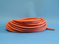 Vacuum tubing red natural rubber 6 X 18 mm, per meter, nr: 302 0618