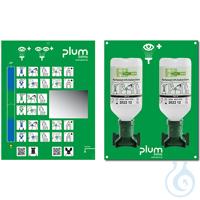 Plum Augenspülstation 4694 mit zwei Augenspülflaschen mit jeweils 500 ml...