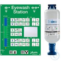 Plum Notfallstation 4741 mit einer Flasche pH Neutral Plum Notfallstation mit...
