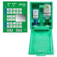 Plum Augen-Notfallstation 4789 in Wandbox mit je 1 Augenspülflasche in einer...
