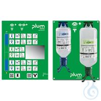 Plum Augen-Notfallstation 4803 mit je 1 DUO Augenspülflasche für die...