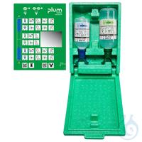 Plum Augen-Notfallstation 4810 in Wandbox mit je 1 DUO Augenspülflasche für...