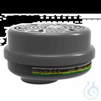 BLS Filter 222, Schutzstufe ABEK1 P3 (1 Paar = 2 Stück) Anzuwenden bei...