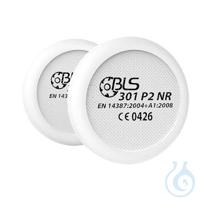 BLS Partikelvorfilter 301, Schutzstufe P2 NR (1 Paar = 2 Stück) Aufgrund des...