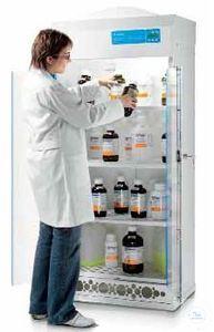 Belüfteter Lagerschrank für Chemikalien, Typ 2010 G