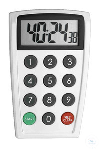 Electronic Timer with Time and Stopwatch Electronic timer
