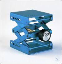 Laborständer BOY 105, blau Laborständer BOY 105    Plattengröße: 80 x 75 mm  Hub/Verstellbarkeit:...