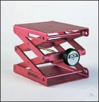 Laborständer BOY 110, rot Laborständer BOY 110    Plattengröße: 120 x 140 mm...