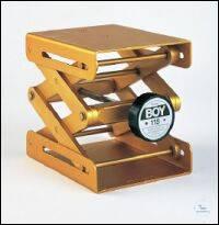 Laborständer BOY 115, gelb Laborständer BOY 115    Plattengröße: 122 x 150 mm...
