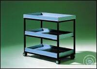 3Artículos como: Laboratory cart VWL 30, with 2 shelves Laboratory cart VWL 30, with 2...