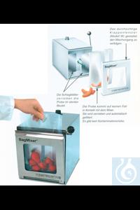Nahrungsmittel-Homogenisator, BagMixer 400 S mit Stahltür