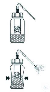 Gasgenerator 500 ml, komplett
