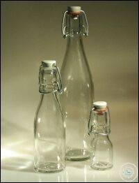 Bügelflasche 50 ml, ohne Verschluss