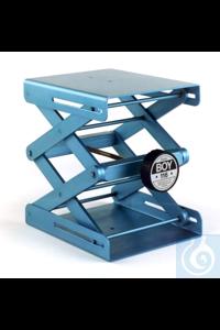 Laborständer BOY 116, blau Laborständer BOY 116    Plattengröße: 180 x 216 mm...