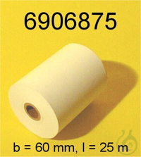 Thermopapier (1 St, b=60mm, l=25m) Thermopapier (1 St, b=60mm, l=25m)