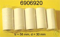 Papierrollen (HX20/YDP01) 5 St,b=57d=30 Papierrollen (HX20/YDP01) 5 St,b=57d=30